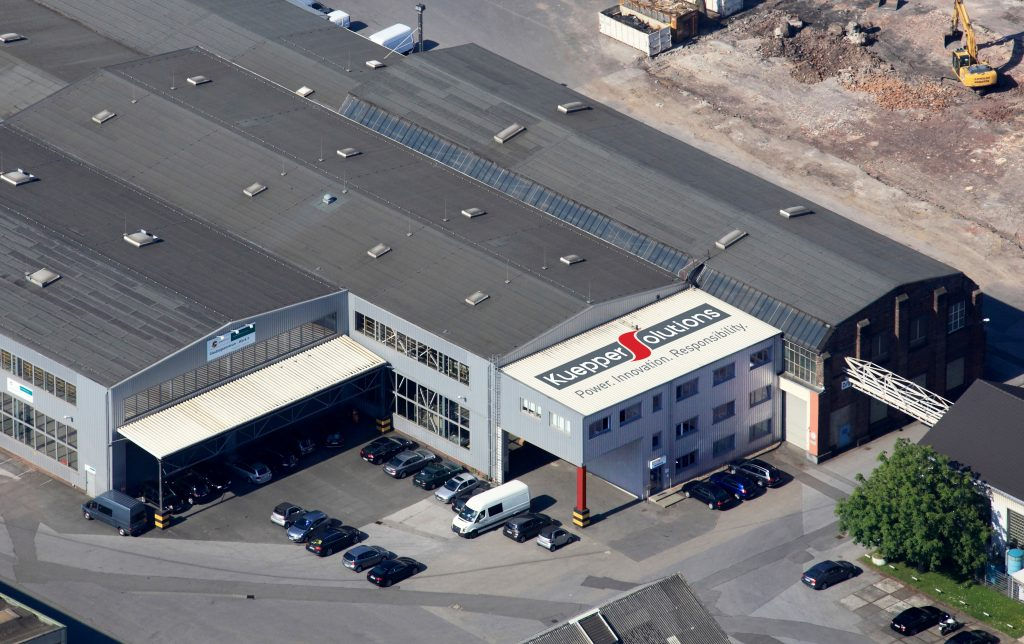 Standort Gelsenkirchen der Kueppers Solutions GmbH