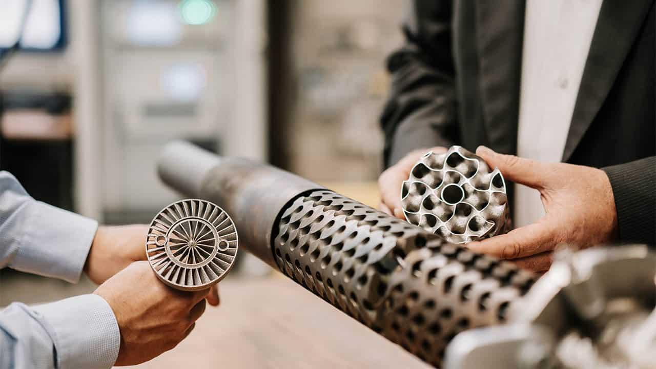 Additiv gefertigtes repukeratives Brennersystem